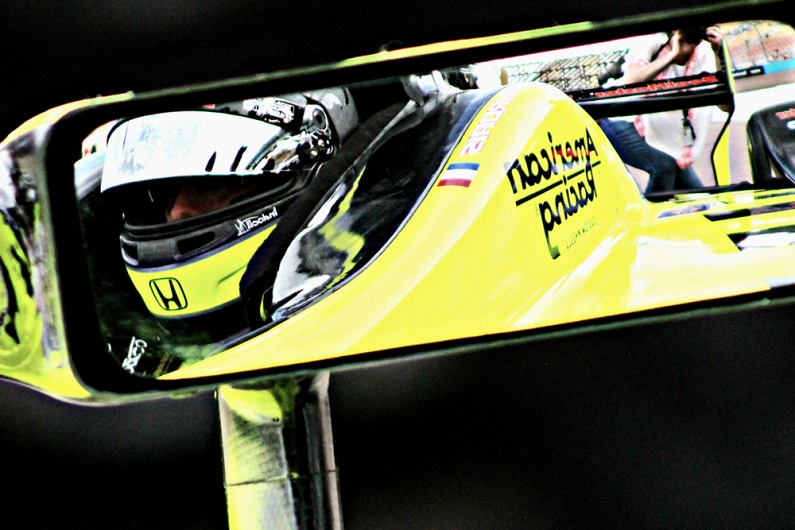 Bourdais Phoenix Qualifying